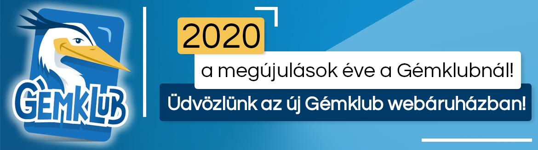 2020 megújul a Gémklub