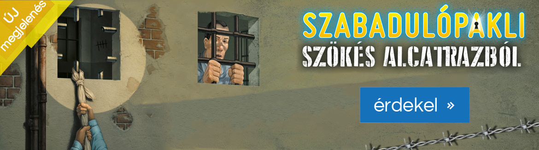 Új megjelenés: Szabadulópakli - Szökés Alcatrazból