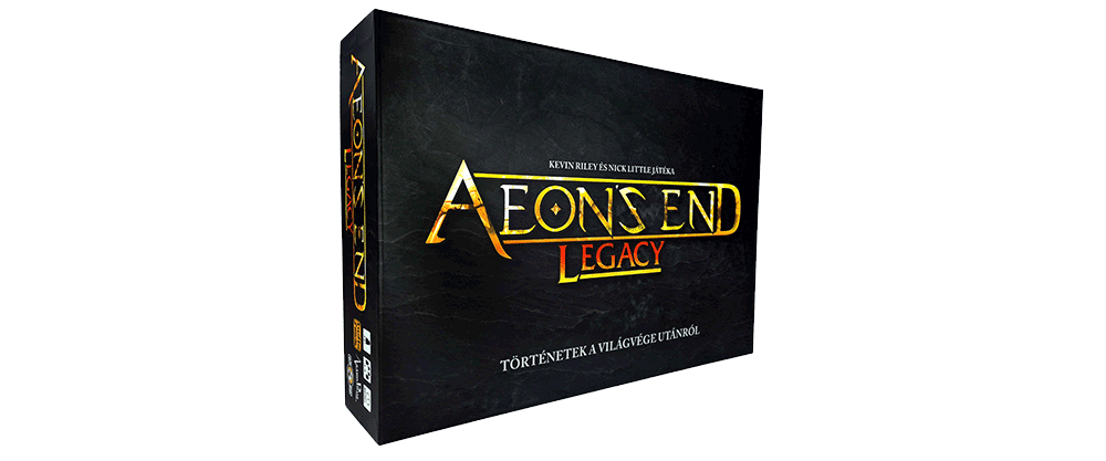 Aeon's End Legacy kalandozós társasjáték