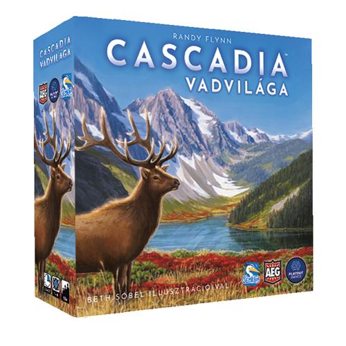 Cascadia Vadvilága társasjáték