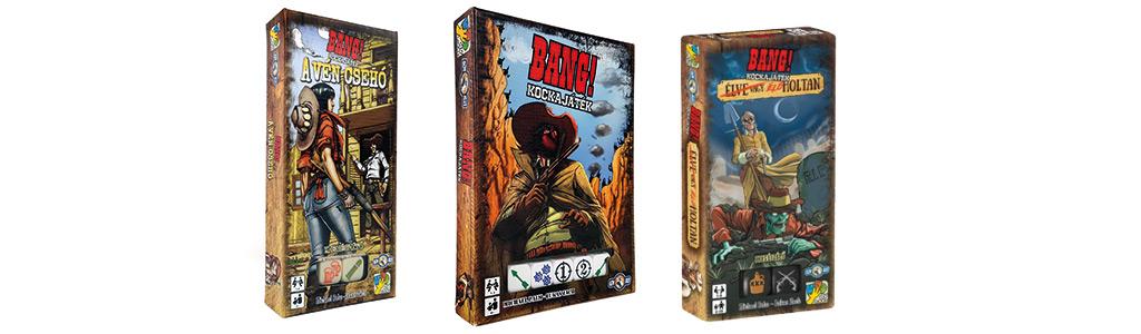 Bang! Kockajáték és kiegészítők