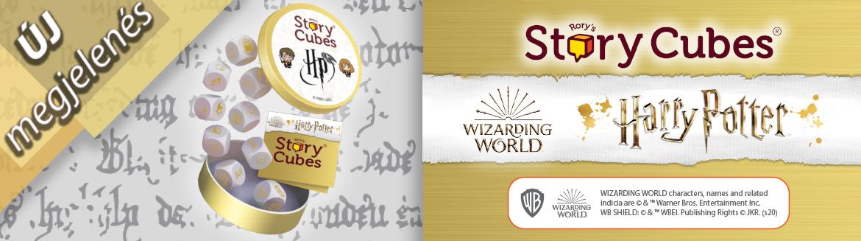 Sztorikocka Harry Potter társasjáték