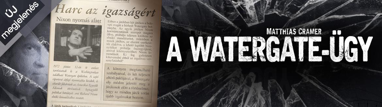 A watergate-ügy, új társasjáték bejelentés