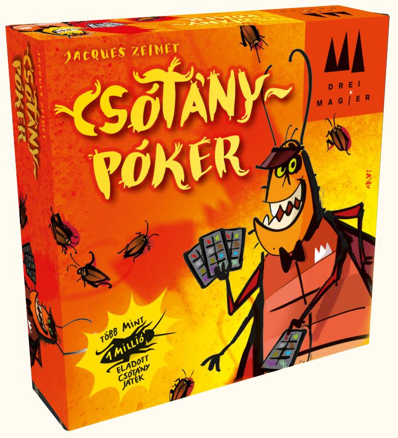 Csótány póker társasjáték