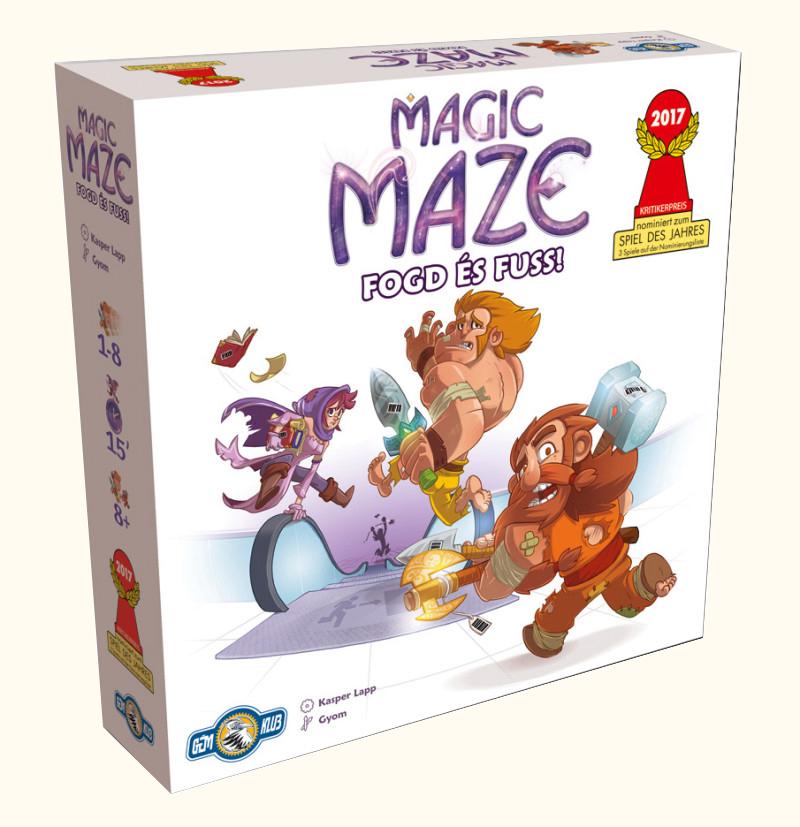Magic Maze Fogd és Fuss! társasjáték