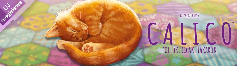 Calico - Foltok,cicák,takarók családi társasjáték