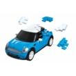 3D Puzzle - Mini Cooper - kék