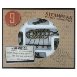 Steampunk Puzzle Set (9) - Barna