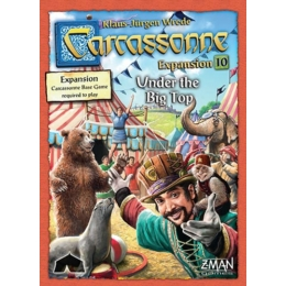 Carcassonne 10. Circus (skandináv kiadás)