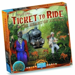 Ticket to Ride Map Collection 3: The Heart of Africa