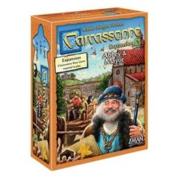 Carcassonne 5: Abbey & Mayor kiegészítő (skandináv kiadás)