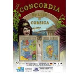Concordia: Gallia és Corsica kiegészítő