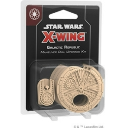 Star Wars X-Wing 2.0: Galactic Republic Maneuver Dial Upgrade Kit