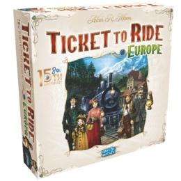 Ticket to Ride Európa 15. jubileumi kiadás