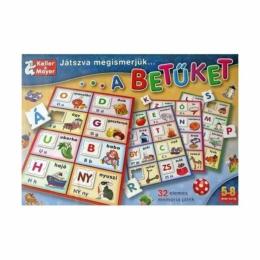 Játszva megismerjük - a betűket