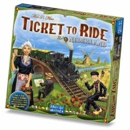 Ticket to Ride Map Collection 4: Nederlands