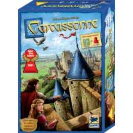 Carcassonne alapjáték (A folyó+Az apát kiegészítőkkel)