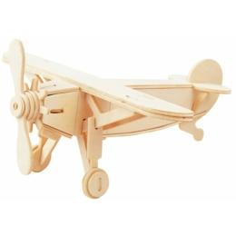 Gepetto's Workshop - Repülőgép - 3D fapuzzle, 473147