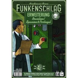 Funkenschlag (Power Grid) 5. kiegészítő: Brazília/Spanyolország & Portugália