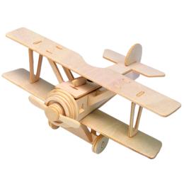 Gepetto's Workshop - Duplaszárnyú repülő - 3D puzzle, 473158