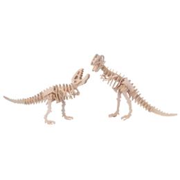 Gepetto's Workshop - Tyrannosaurus 2 az 1-ben - 3D fapuzzle