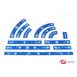 Star Wars X-Wing Ruler Set (kék)