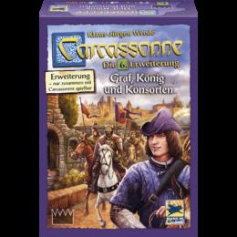 Carcassonne 6. kiegészítő - Graf, König und Konsorten (új kiadás)