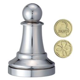 Cast Sakk - Gyalog (ezüst)
