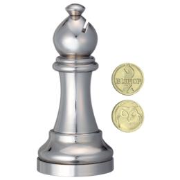 Cast Sakk - Futó (ezüst)