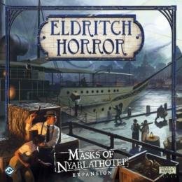 Eldritch Horror: Masks of Nyarlathotep kiegészítő