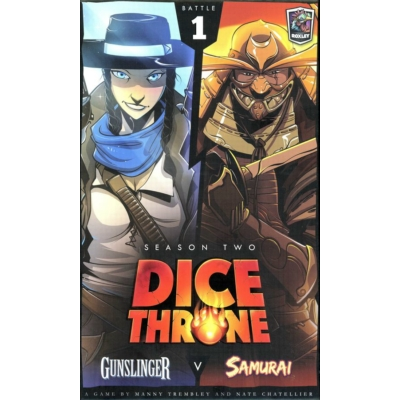 Dice Throne: Season 2 - Gunslinger v. Samurai