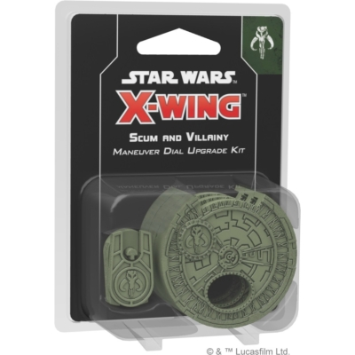 Star Wars X-Wing 2.0: Scum and Villainy Maneuver Dial Upgrade Kit