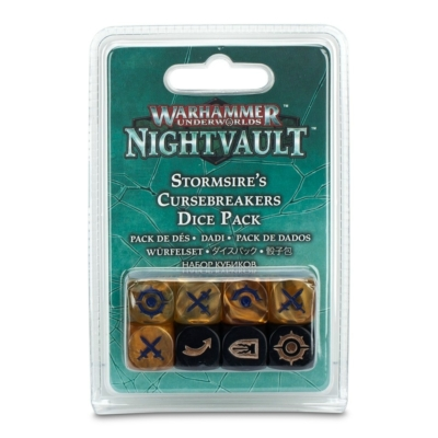 Nightvault: Stormsire's Cursebreakers Dice Set