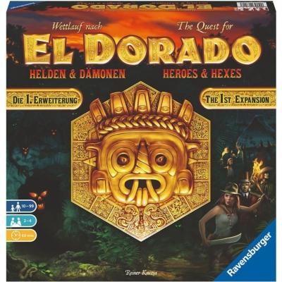 Wettlauf nach El Dorado: Helden & Damonen kiegészítő