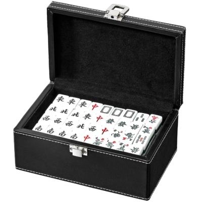 Mahjong készlet, kicsi, műbőr dobozban - 3267