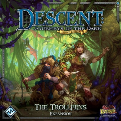 Descent 2nd edition - Trollfens kiegészítő