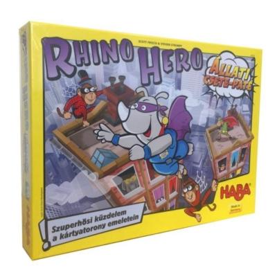 Rhino Hero: Állati csete-paté