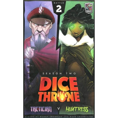 Dice Throne: Season 2 - Tactician v. Huntress
