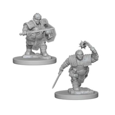 D&D Nolzur's Marvelous Miniatures: Dwarf Fighter Female