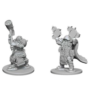 D&D Nolzur's Marvelous Miniatures: Dwarf Cleric Male Wave1