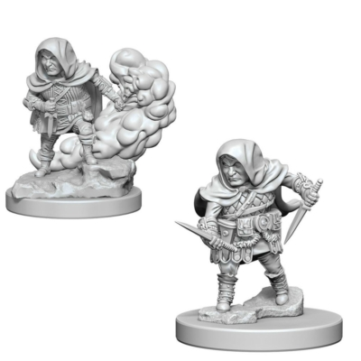 D&D Nolzur's Marvelous Miniatures: Halfling Rogue Male