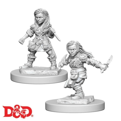 D&D Nolzurs Marvelous Miniatures: Halfling Rogue Female