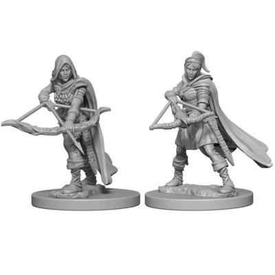 D&D Nolzur's Marvelous Miniatures: Human Ranger Female Wave1