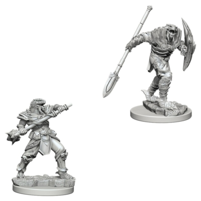 D&D Nolzur's Marvelous Miniatures: Dragonborn Fighter Male with Spear