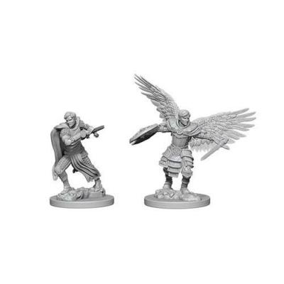 D&D Nolzur's Marvelous Miniatures: Aasimar Fighter Male