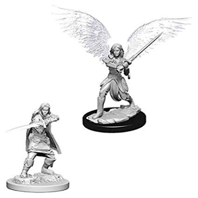 D&D Nolzur's Marvelous Miniatures: Aasimar Fighter Female