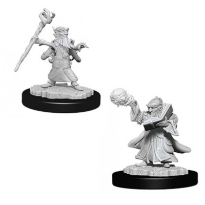 D&D Nolzur's Marvelous Miniatures: Gnome Wizard Male