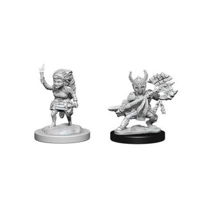 D&D Nolzur's Marvelous Miniatures: Halfling Fighter Female
