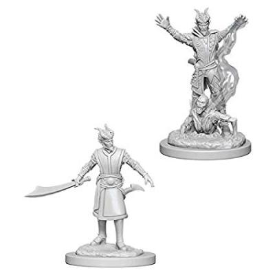 D&D Nolzur's Marvelous Miniatures: Tiefling Warlock Male