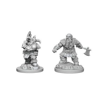D&D Nolzur's Marvelous Miniatures: Dwarf Barbarian Male